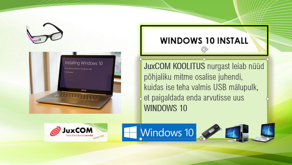 windows10 install
